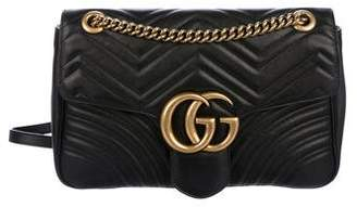 Gucci Medium GG Marmont Matelassé Shoulder Bag