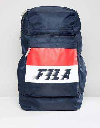 Fila Leonard Backpack In Navy