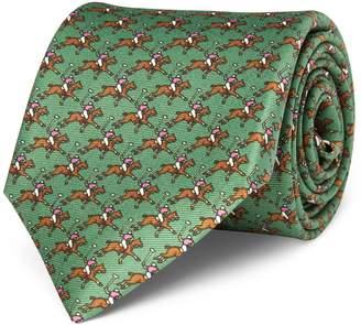 Polo Ralph Lauren Player Silk Narrow Tie