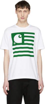 Junya Watanabe White Carhartt Edition Logo T-Shirt