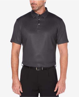PGA Tour Men's Herringbone-Print Golf Polo