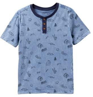 Lucky Brand Short Sleeve Tee (Big Boys)