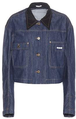 Miu Miu Mue denim jacket