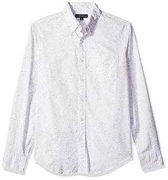J.Crew Mercantile Men's Slim-Fit Long-Sleeve Marled Cotton Shirt