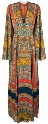 Etro long printed dress