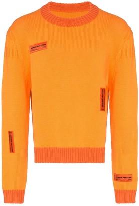 Heron Preston Crazy label sweater
