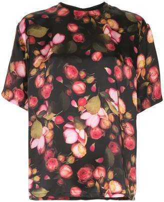 Mother of Pearl Shirley silk floral top