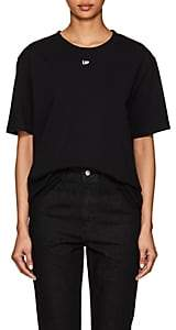 "Off-White Byredo x Women's Unisex ""Up""-Print Cotton T-Shirt-Black"