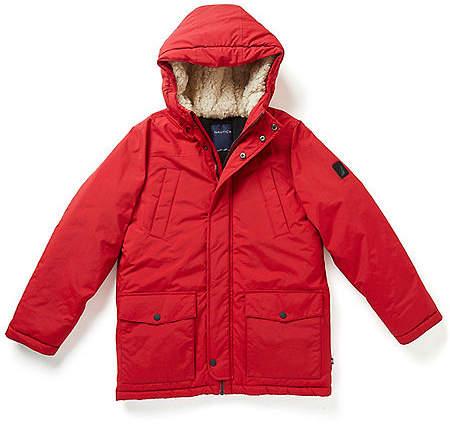 Boys' Hooded Snorkel Jacket