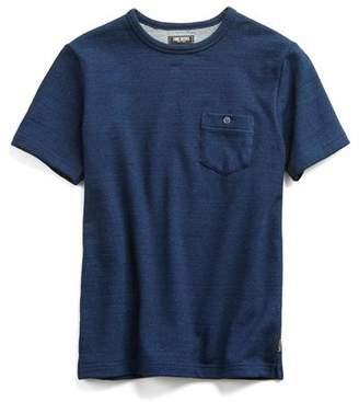 Todd Snyder Short Sleeve Japanese Indigo Sweatshirt
