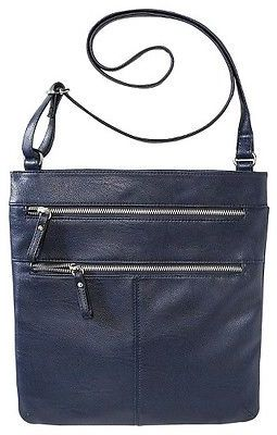 Merona; Women's Crossbody Faux Leather Handbag with Double Zipper Detail - Merona; $26.99 thestylecure.com