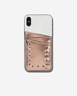 Express Adhesive Studded Pocket Card Holder