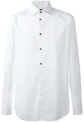 DSQUARED2 bib detail shirt