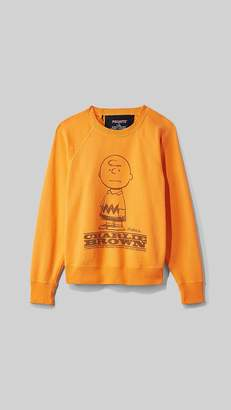 Marc Jacobs Peanuts X The Sweatshirt With Charlie Brown