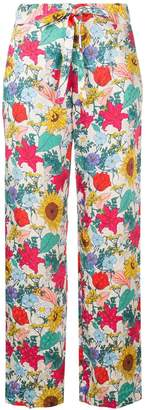 Baum und Pferdgarten national bloom print trousers