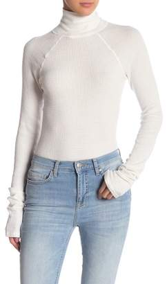 Free People All You Want Turtleneck Thermal Bodysuit