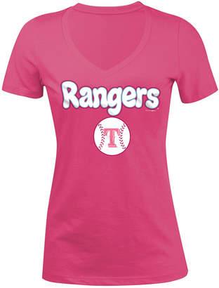 5th & Ocean Texas Rangers Retro Inspo T-Shirt, Girls (4-16)
