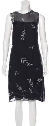 Akris Punto Knee-Length Sleeveless Dress
