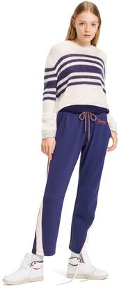 Tommy Hilfiger Cropped Striped Sweater