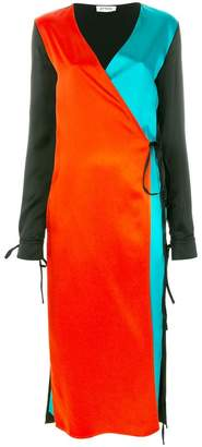 ATTICO colour block dress