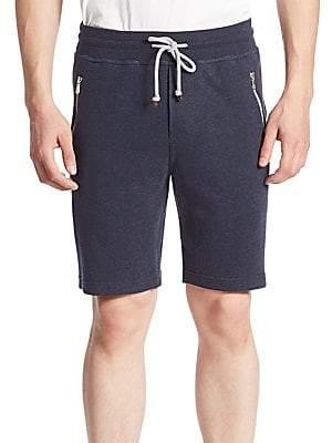 Brunello Cucinelli Men's Zip Pocket Shorts