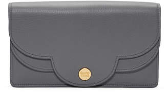 See by Chloe Grey Mini Scallop Wallet Bag