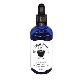 The Rugged Beard Company - 'Lemon & Tea Tree' Beard Oil