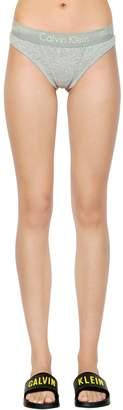 Calvin Klein Underwear Cotton Jersey Thong