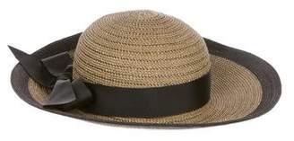 Eric Javits Metallic Bow Sun Hat