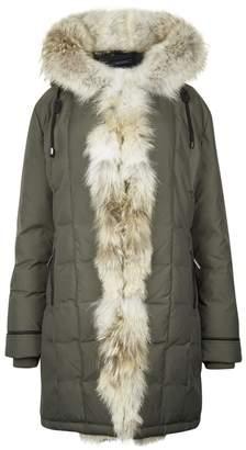 Pajar Nikita Army Green Fur