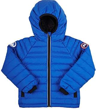 Canada Goose Sherwood Down Channel-Quilted Coat $395 thestylecure.com