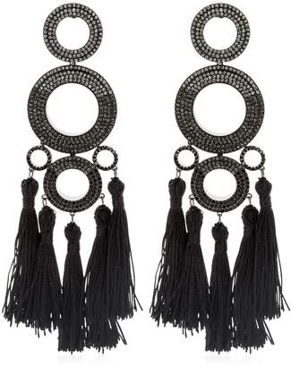 Grommets Ombre Statement Earrings