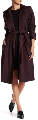 Theory Laurelwood Trench Coat $655 thestylecure.com