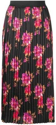 Liu Jo floral print pleated skirt