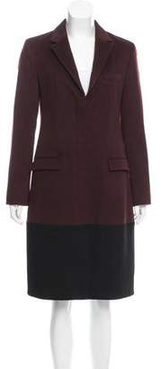 Reed Krakoff Button-Up Wool Coat