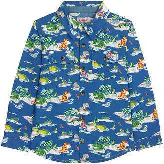 Cath Kidston Hippos And Friends Kids Long Sleeve Shirt