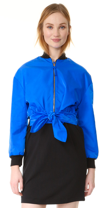 Moschino Jacket with Tie $1,295 thestylecure.com