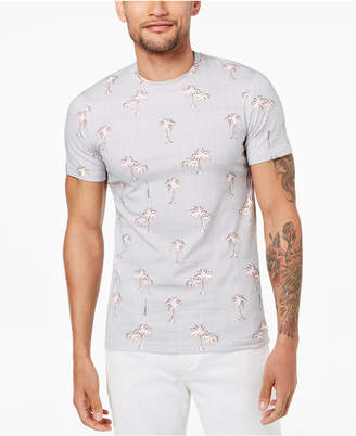 Versace Men's Palm Tree-Print T-Shirt