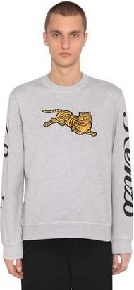 Kenzo Jumping Tiger Cotton Sweatshirt