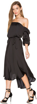 Bardot Caught Sleeve Dress $99 thestylecure.com