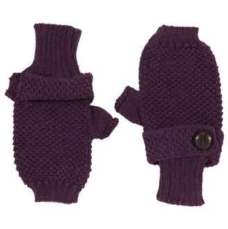 ANTA Q'ULQI Baby Alpaca - knitted Fingerless Mittens Gloves 100% baby alpaca