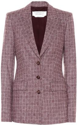 Gabriela Hearst Olga checked wool-blend blazer