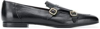 Lidfort square toe monk shoes