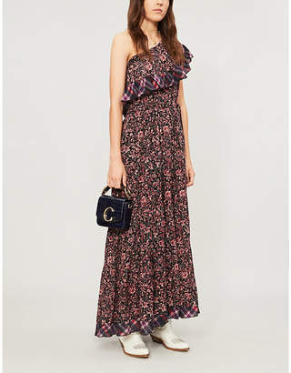 Free People What About Love one-shoulder cotton dress