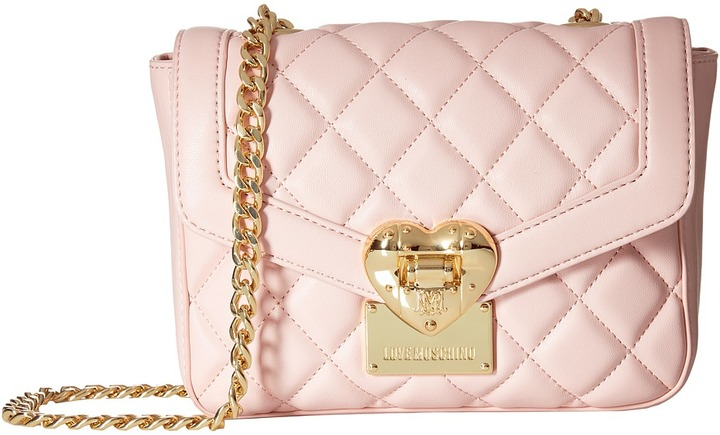 Love MoschinoLOVE Moschino Quilted Envelope Crossbody