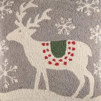 Scandinavian Kate Nelligan Deer Handmade Gray Area Rug Kate Nelligan