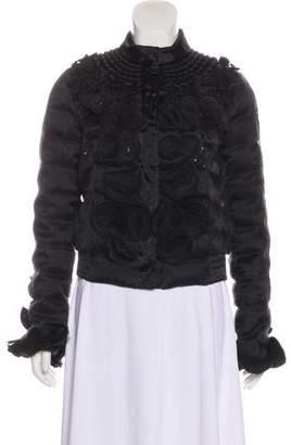 Moncler Silk Embellished Jacket