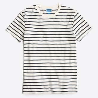 J.Crew Mercantile slim Broken-in deck-striped T-shirt