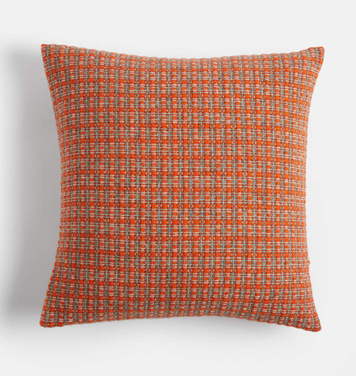 Wool Mended Tweed Pillow Cover