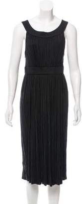 Charles Chang-Lima Sleeveless Midi Dress